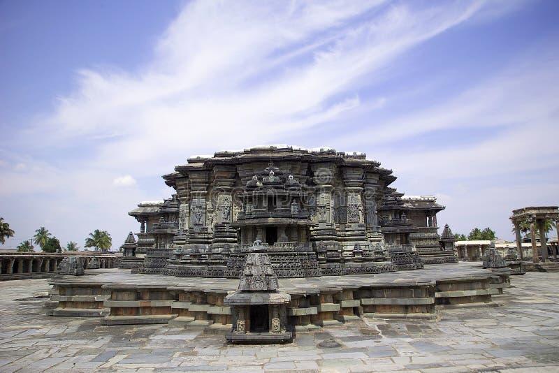 Hoysala temple at Belur royalty free stock photos