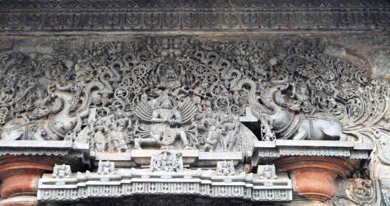 Hoysaleswara temple, Halebidu royalty free stock image