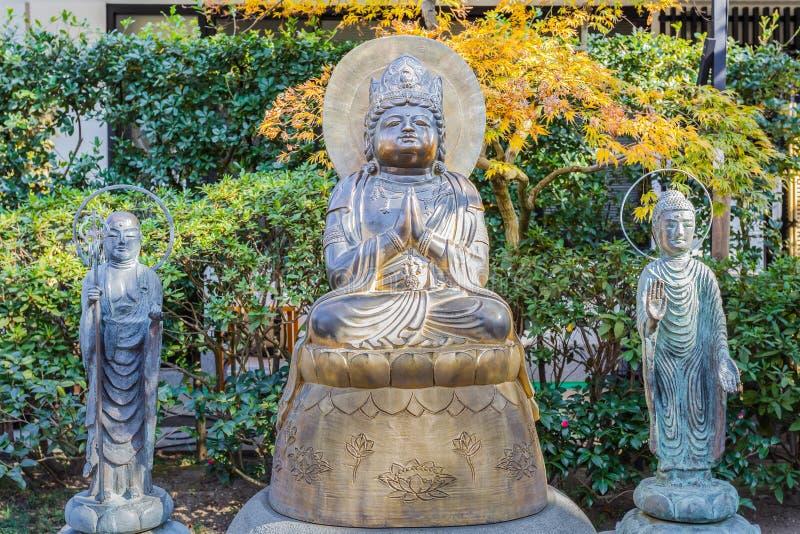 Hozo Bosatsu Amida en el templo de Hasedera en kamakura fotos de archivo