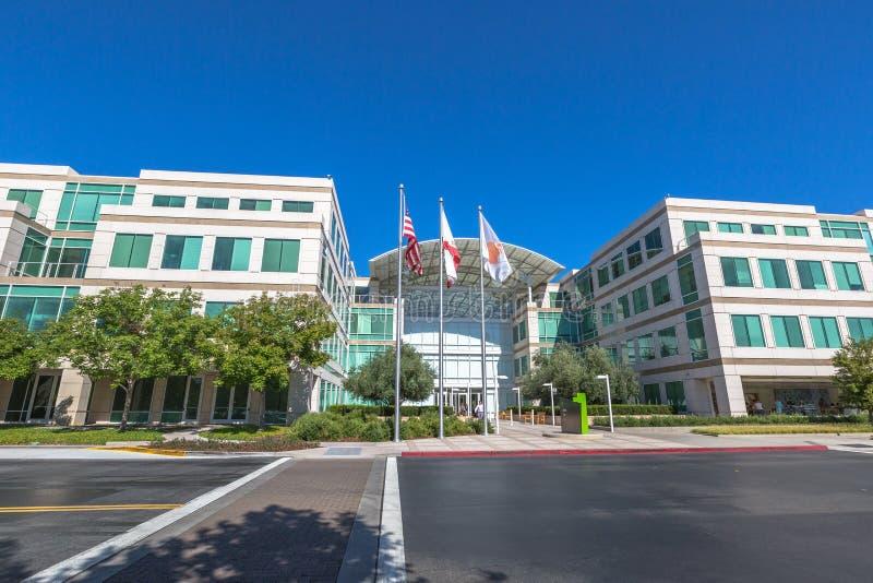 HQ Cupertino Яблока стоковое фото