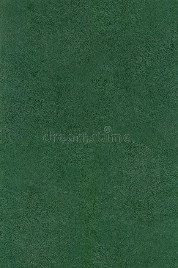 HQ green leather texture. Background stock image