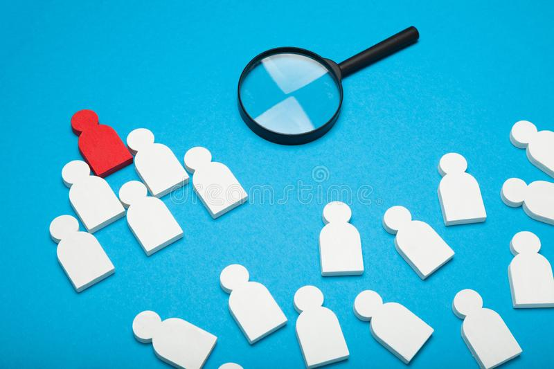 Hr candidate selection, staffing talent background. Choice business career stock photos