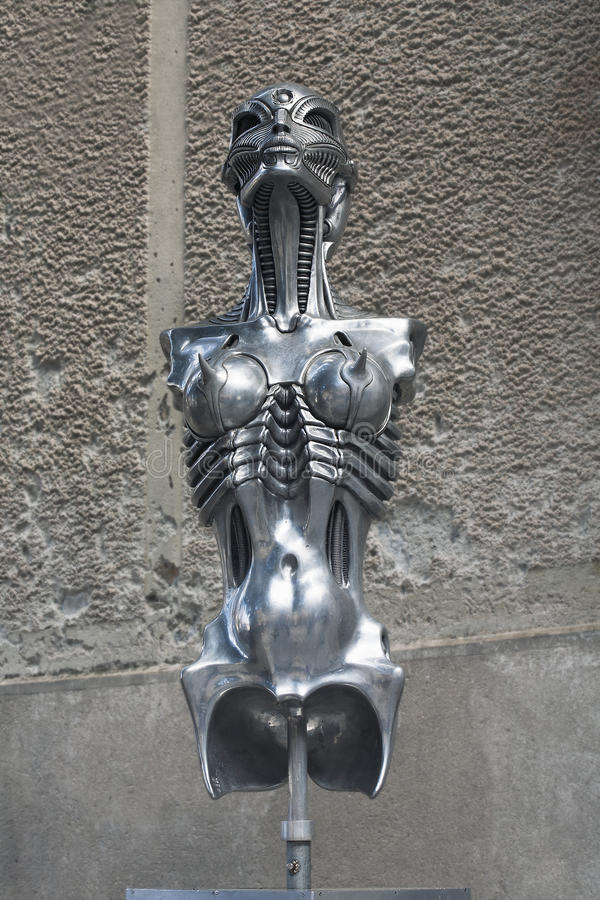 Download HR Giger Sculpture Editorial Stock Photo - Image: 25707483