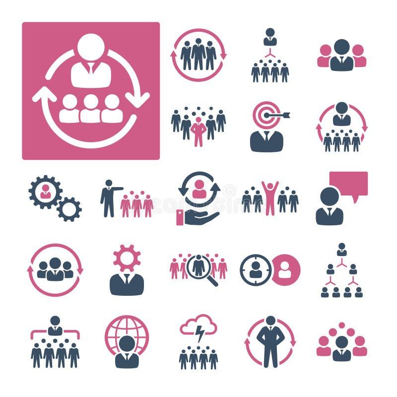 HR, rekrutacja i zarządzanie, (część 1) royalty ilustracja
