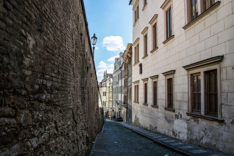 HradÄ , Prague, Tjeckien royaltyfria bilder