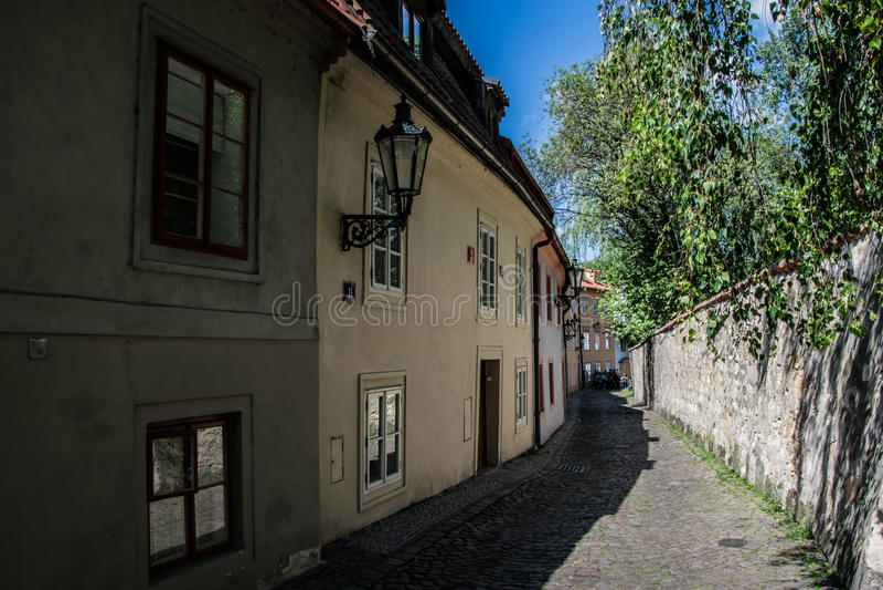 HradÄ , Prague, Tjeckien royaltyfri bild