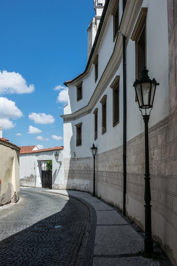 HradÄ  wcale, Praga, republika czech obraz royalty free