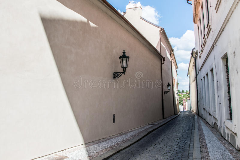HradÄ  wcale, Praga, republika czech fotografia stock