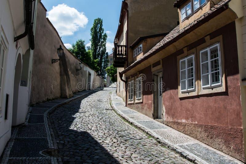 HradÄ  wcale, Praga, republika czech obraz stock