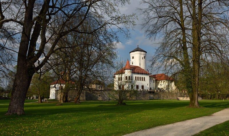 Hrad Budatinsky, Словакия стоковое изображение rf