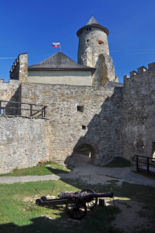 Hrad de Lubovniansky imagem de stock