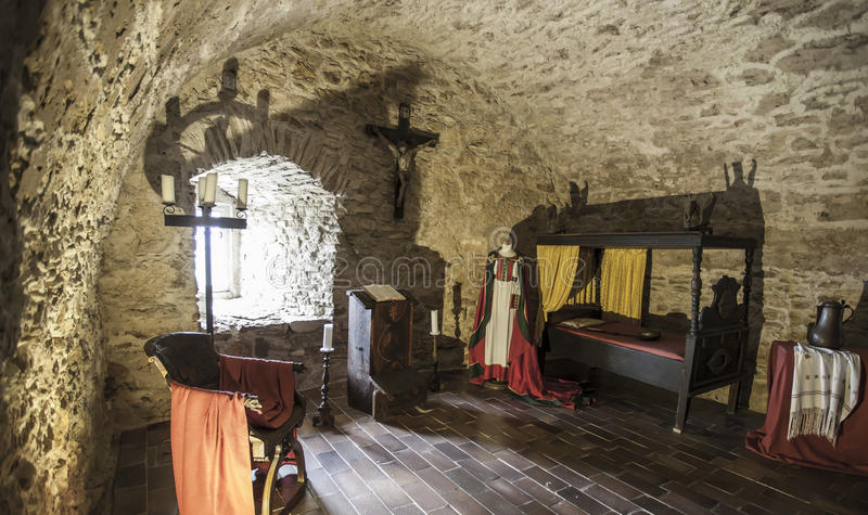 Hrad interno slovacchia di spissky del castello di zipser for Camera da letto del soffitto della cattedrale