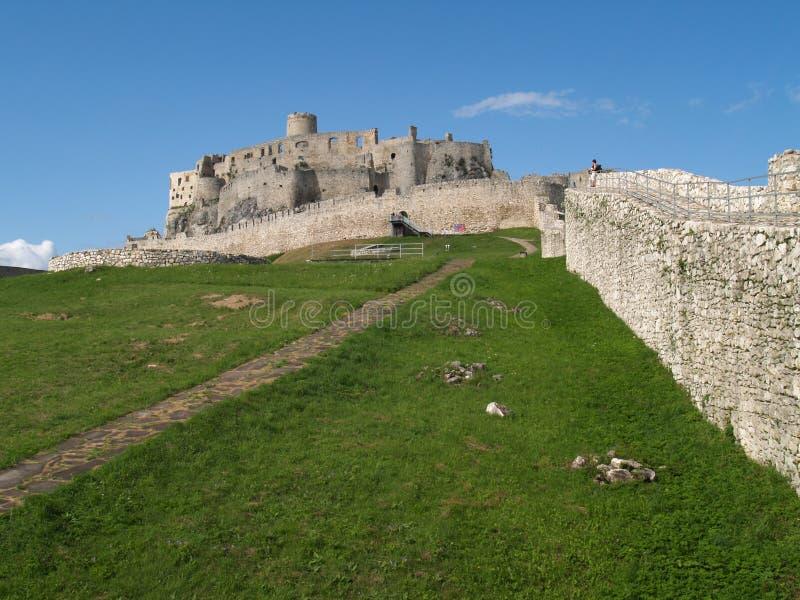 hrad spissky στοκ φωτογραφία