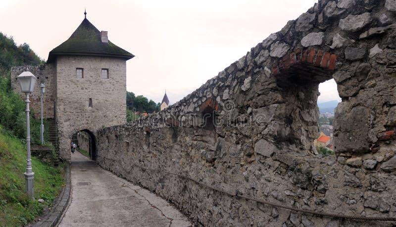 Download Hrad trenciansky στοκ εικόνα. εικόνα από τουρισμός, κάστρο - 13189503