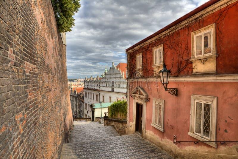 Hradcany en Praga fotografía de archivo libre de regalías