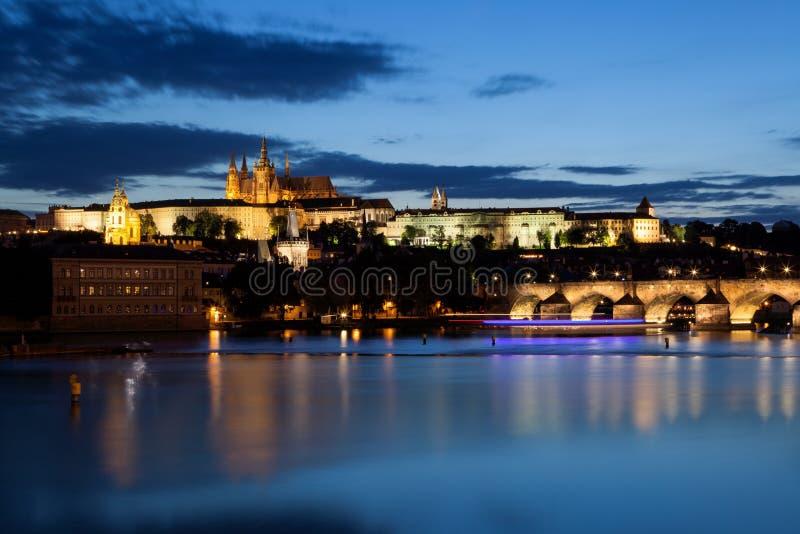 Hradcany a Praga fotografia stock libera da diritti