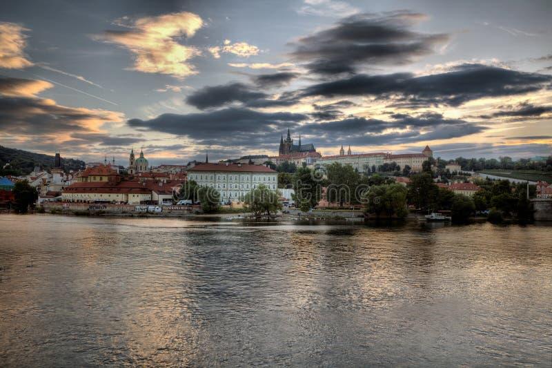 Hradcany a Praga immagine stock