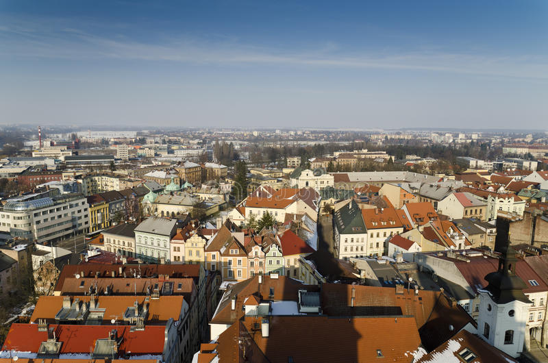 Hradec Kralove. One of the most beautiful towns in the Czech Republic royalty free stock image