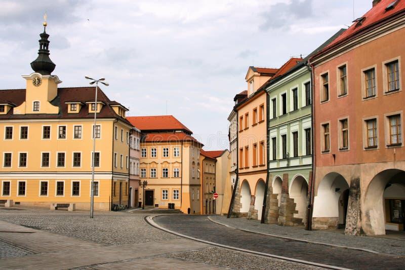 Hradec Kralove. Old town of Hradec Kralove in Czech Republic royalty free stock photo