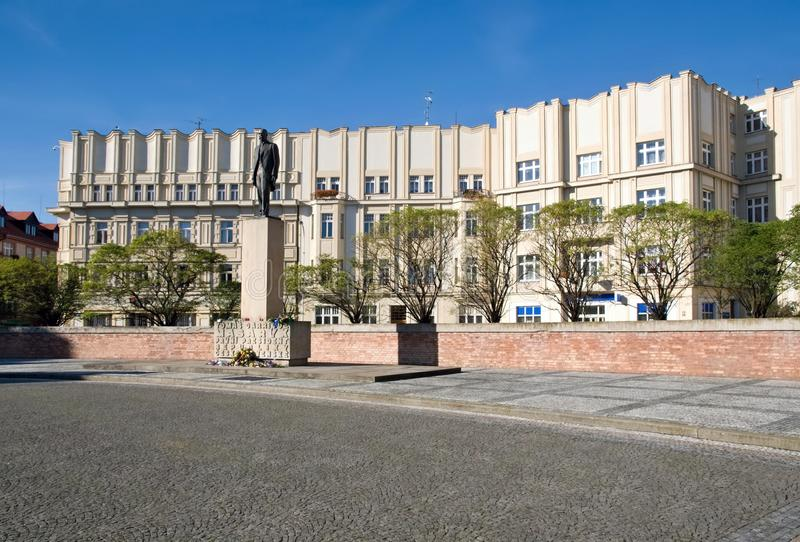 Hradec Kralove, república checa foto de stock