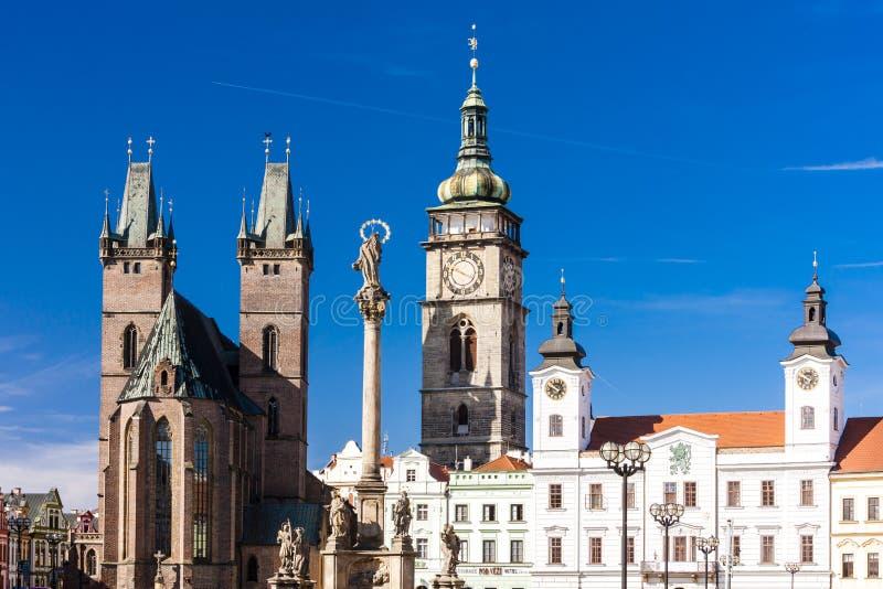 Hradec Kralove, Tjeckien arkivfoton
