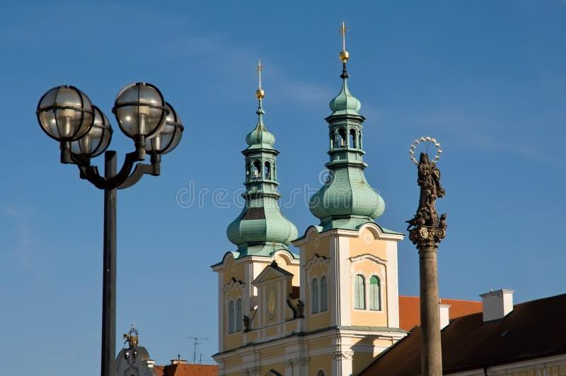 Hradec Kralove, Tschechische Republik stockbild