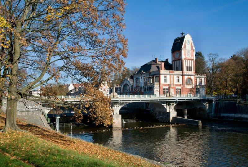 Hradec Kralove, Tsjechische republiek royalty-vrije stock afbeeldingen