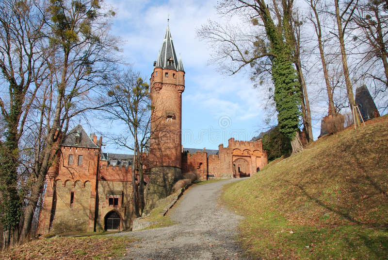 Hradec nad Moravici. Romantic castle Hradec nad Moravici stock photography