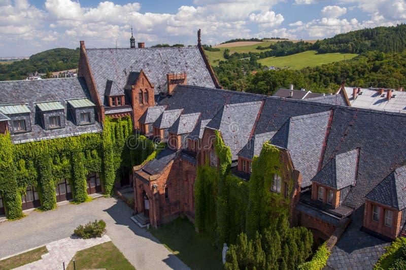 Hradec nad Moravici. Castle Hradec nad Moravici, Czech Republic royalty free stock image