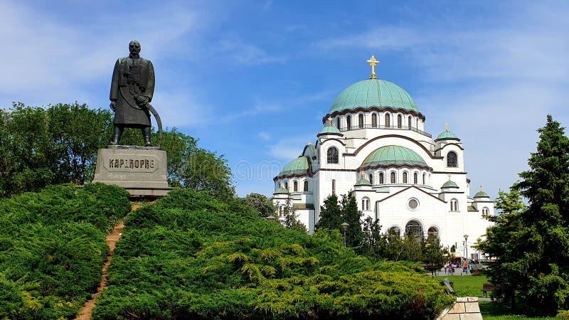 Hram del St Sava fotografía de archivo