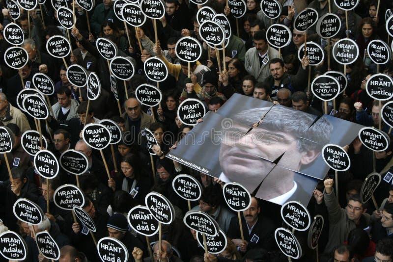 Hrant Dink royalty-vrije stock foto