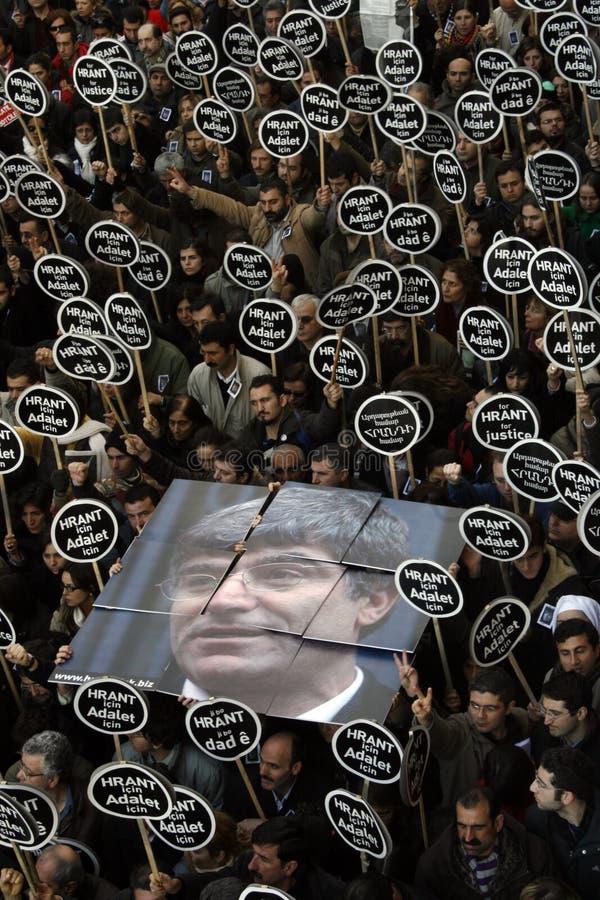 Hrant Dink stock foto's