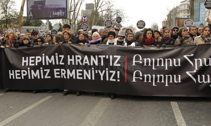 Hrant Dink royalty-vrije stock foto's