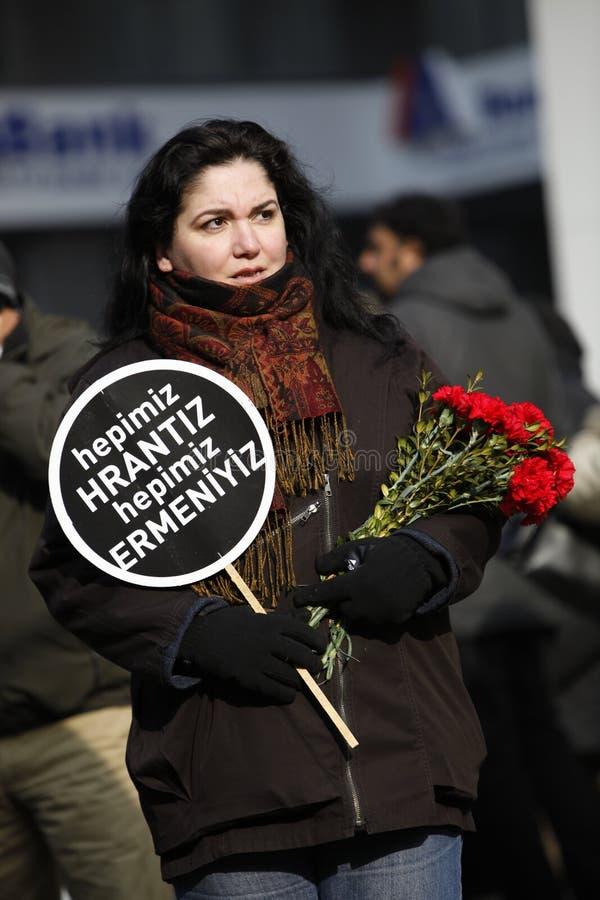 Hrant Dink stock fotografie
