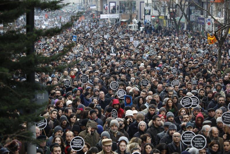 Hrant Dink royalty-vrije stock afbeelding