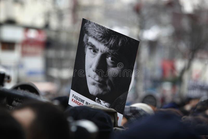 Hrant Dink fotos de archivo libres de regalías