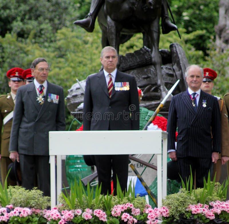 HRH The Duke Of York imagens de stock