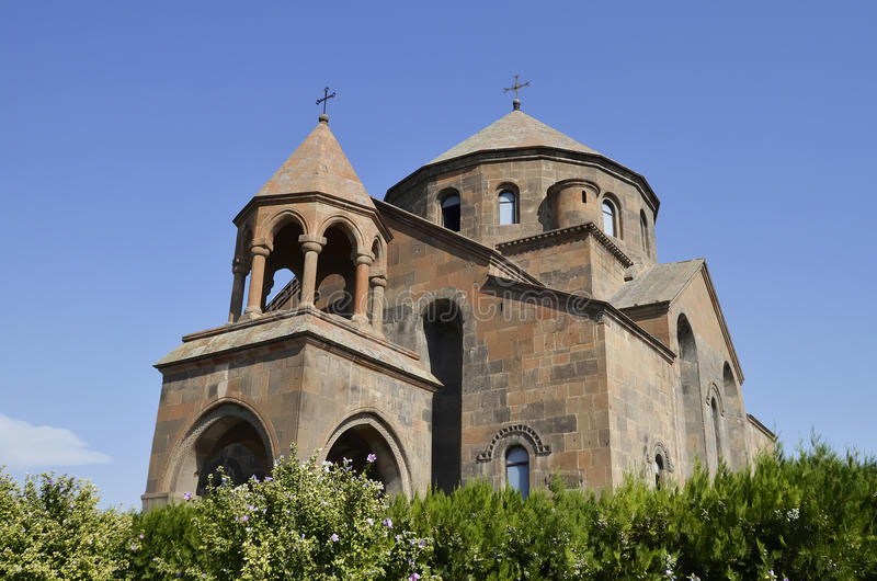 Hripsime kyrka arkivfoton