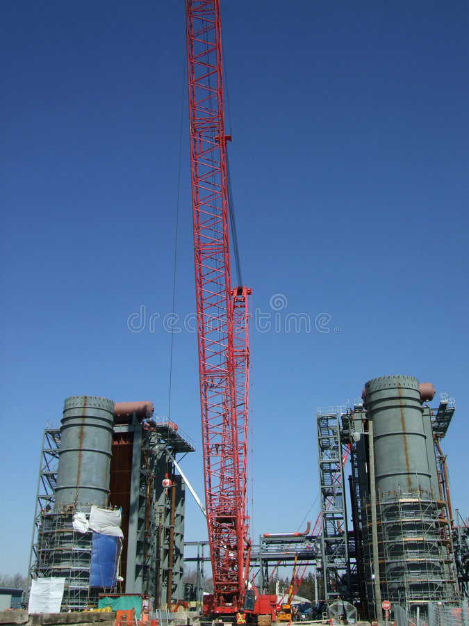 Hrsg Construction royalty free stock photo