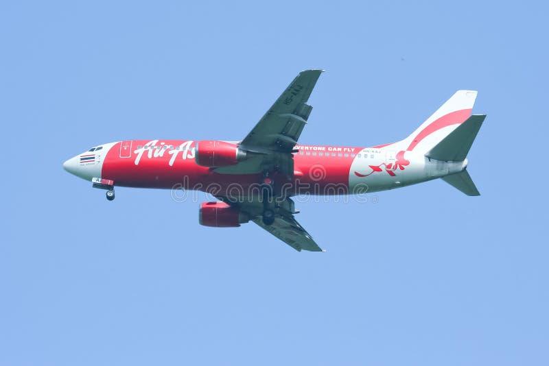 Hs-AAJ Boeing 737-300 van Thaiairasia stock afbeelding