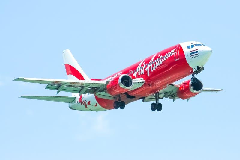 HS-AAV Боинг 737-300 Thaiairasia стоковые изображения rf