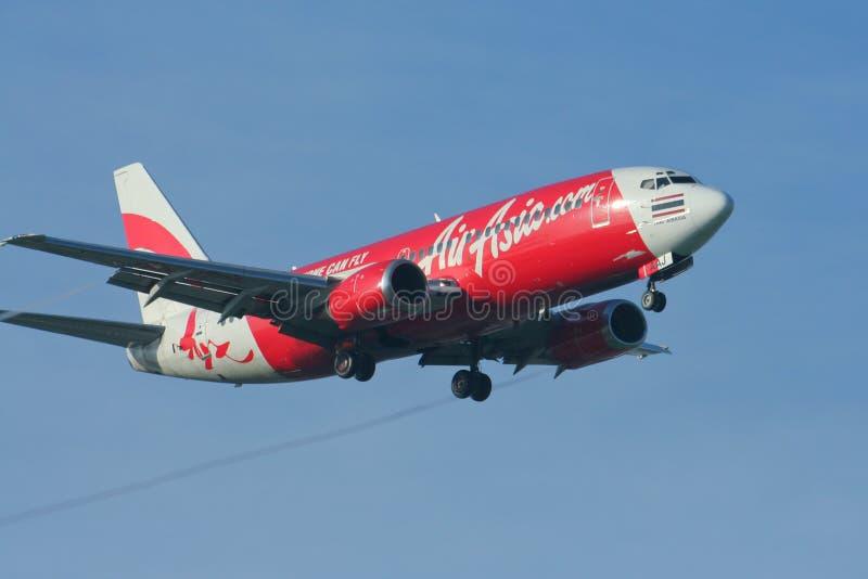 HS-AAV Боинг 737-300 Thaiairasia стоковое изображение rf