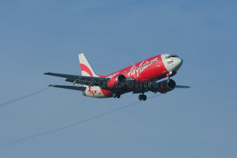 HS-AAV Боинг 737-300 Thaiairasia стоковые фотографии rf