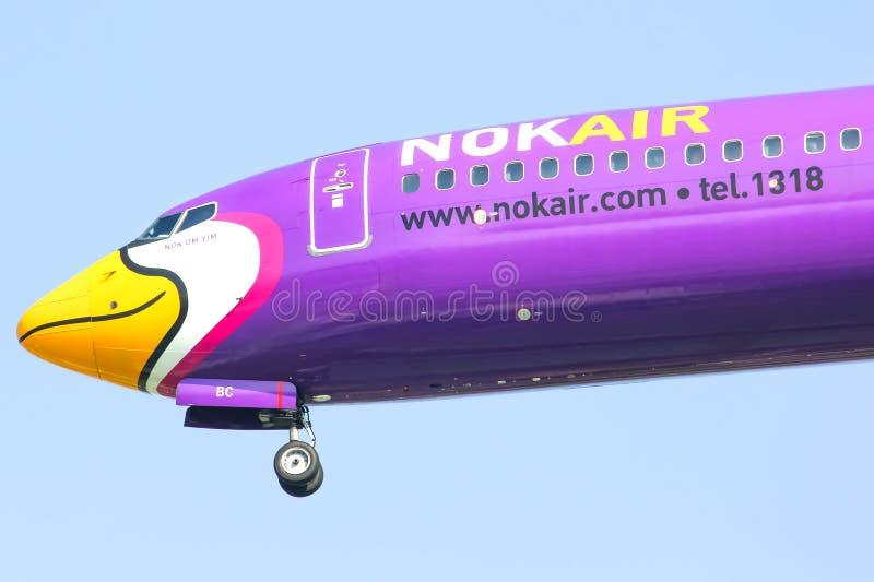HS-DBC Boeing 737-800 NokAir zdjęcia royalty free