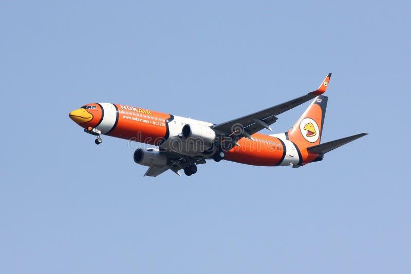 Hs-DBH Boeing 737-800 van NokAir royalty-vrije stock foto