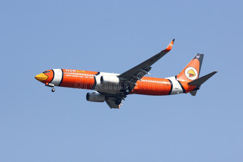 Hs-DBH Boeing 737-800 van NokAir stock afbeelding