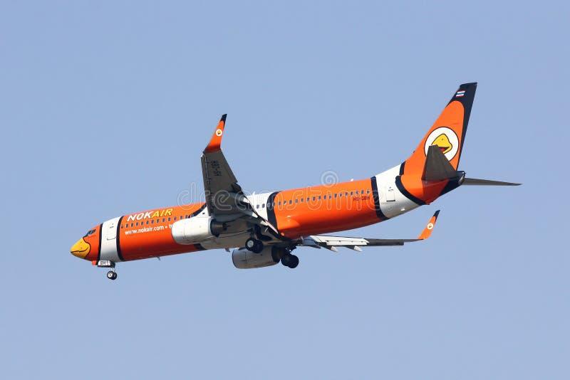 Hs-DBH Boeing 737-800 van NokAir stock foto's