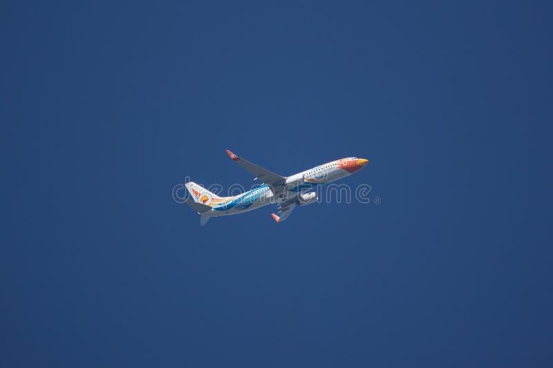 HS-DBW Боинг 737-800 NokAir стоковое фото rf