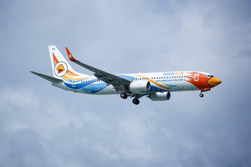 Hs-DBW Boeing 737-800 van NokAir royalty-vrije stock afbeeldingen