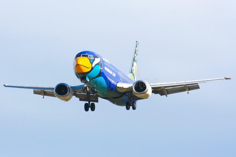 HS-DDJ Boeing 737-400 NokAir linia lotnicza zdjęcia royalty free